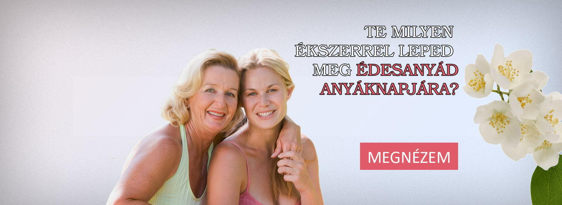 Anyáknapi ékszer ajánlatok
