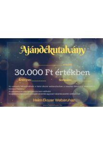 30.000 Ft-os ajándékutalvány