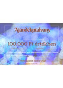 100.000 Ft-os ajándékutalvány