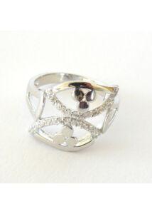 AKCIÓ !! Egyedi ezüst gyűrű, mutatós ezüst ékszer