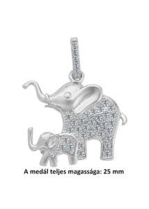 Elefant-medal-pici-kovekkel-ezust-ekszer-heim-ekszer-webaruhaz