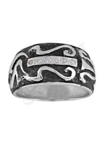 Antikolt ezüst gyűrű, ezüst ékszer minden méretben