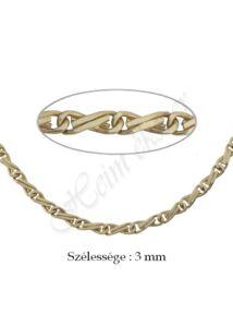 H-Sharlesz nyaklánc, arany ékszer
