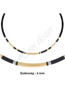Arany - kaucsuk nyaklánc, arany ékszer minden méretben