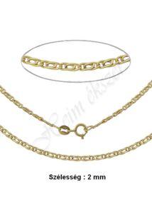 Scharlesz nyaklánc, arany ékszer