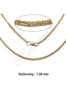Arany Barabara nyaklánc több színben és méretben, arany ékszer