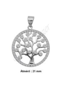 Életfa medál, ezüst ékszer