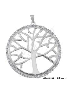 Ősi életfa nagy medál, ezüst ékszer