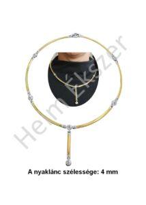Exclusive collie nyakék, arany ékszer