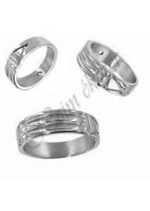 Ezüst ékszer, ezüst Atlantiszi gyűrű