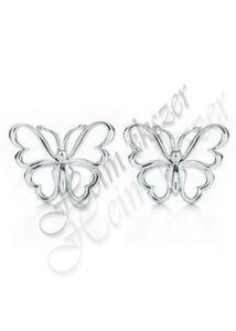 Pillangó fülbevaló, ezüst ékszer