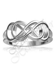 Ezüst ékszer, végtelen gyűrű