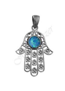 Fatima keze, védelmező kéz medál, ezüst ékszer