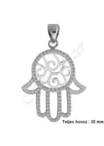 NAGY Fatima keze ( hamsa ) védelmező ezüst medál