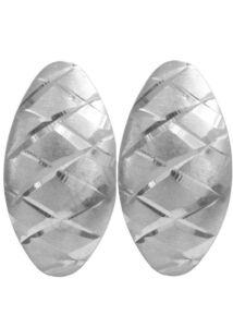 Mutatós fülbevaló, ezüst ékszer