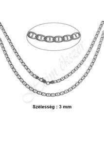 Gucci nyaklánc, ezüst ékszer több hosszúságban