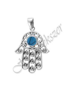 Fatima keze ( hamza ) védelmező ezüst medál