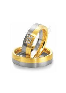 Arany ékszer, egyedi karikagyűrű 18