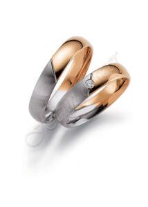 Egyedi karikagyűrű, jegygyűrű ( 71 ), arany ékszer