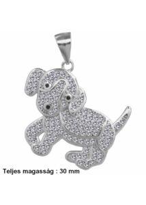 Aranyos kutya medál, ezüst ékszer