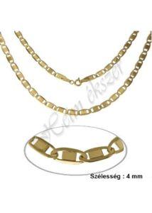 Mutatós Valentino nyaklánc, arany ékszer