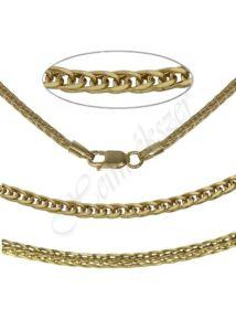 Különleges Barbara nyaklánc, arany ékszer több hosszúságban