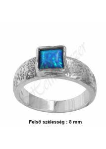 Opál köves izraeli gyűrű, ezüst ékszer minden méretben