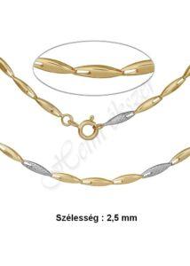 Arany ékszer, elegáns arany lánc