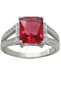 Rubin köves gyűrű, ezüst ékszer. Utolsó darab. AKCIÓ!!!