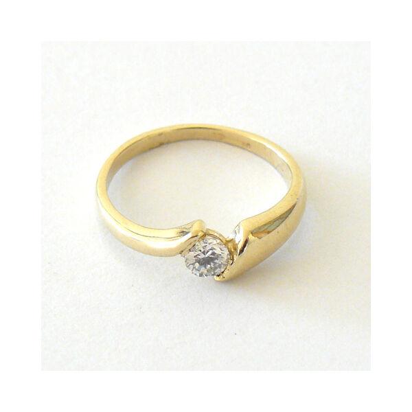 Arany ékszer, sárga arany gyűrű