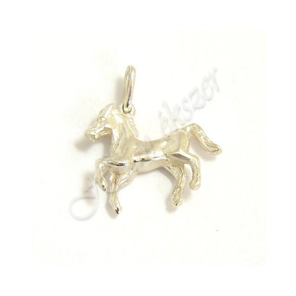 Ezüst  ékszer, ló medál