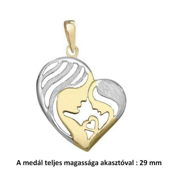anya-gyermek-sziv-medal-arany-ekszer-heim-ekszer-webaruhaz