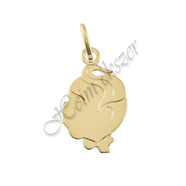 Kisfiú medál, arany ékszer ( választható szín )