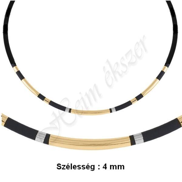 Arany kaucsuk nyaklánc Heim Ékszer webáruház
