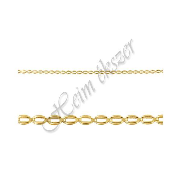 Arany nyaklánc, sárga arany ékszer