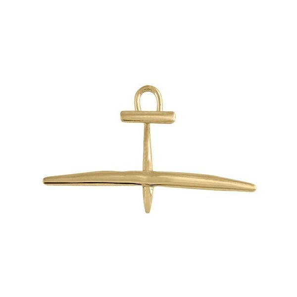 Arany vitorlázórepülő medál Heim Ékszer webáruház