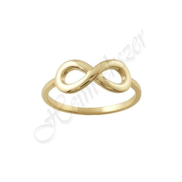 Arany végtelen gyűrű Heim Ékszer webáruház