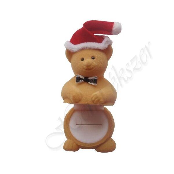 Karácsonyi díszdoboz maci-doboz