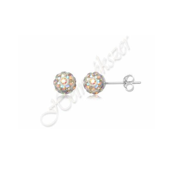Shamballa Swarovski crystal kövekkel díszített fülbevaló