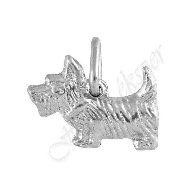 Ezüst  pici Westie kutya medál Heim Ékszer webáruház