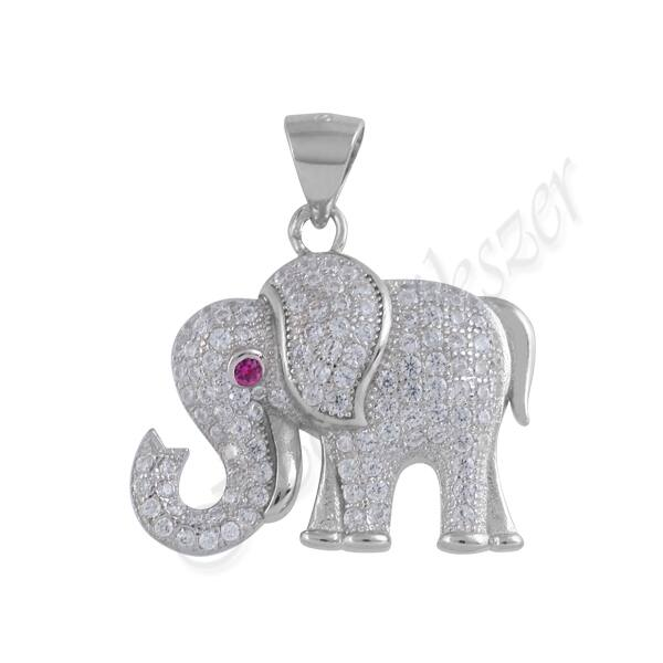 Ezüst elefánt medál, Heim Ékszer webáruház