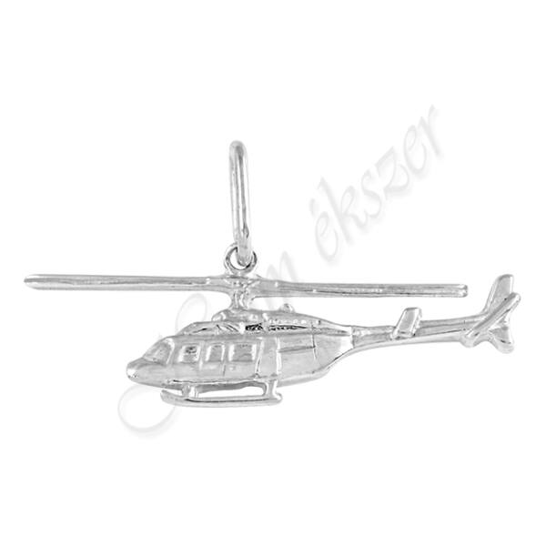 ezüst helikopter medál, Heim Ékszer webáruház