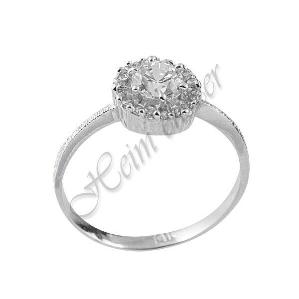 Exclusive arany ékszer, különleges fehér arany gyűrű