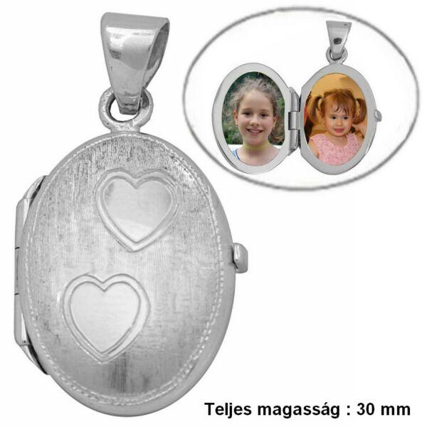 fenykeptarto-nyitható-oval-feher-arany-medal-heim-ekszer-webaruhaz