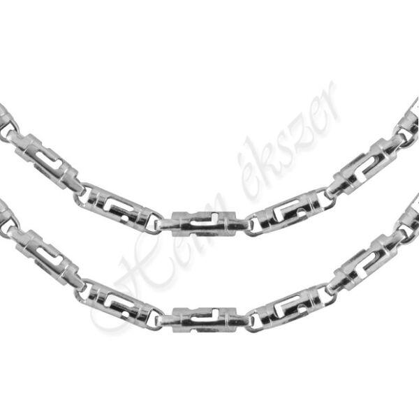 Görög mintás férfi ezüst nyaklánc Heim Ékszer webáruház