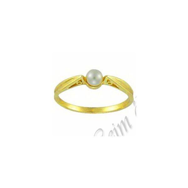 Gyöngyös szoliter jellegű gyűrű, arany ékszer minden méretben