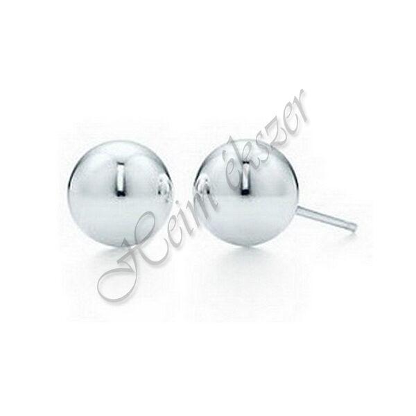 Ezüst ékszer,  ezüst gömb fülbevaló 10 mm AKCIÓ !!!