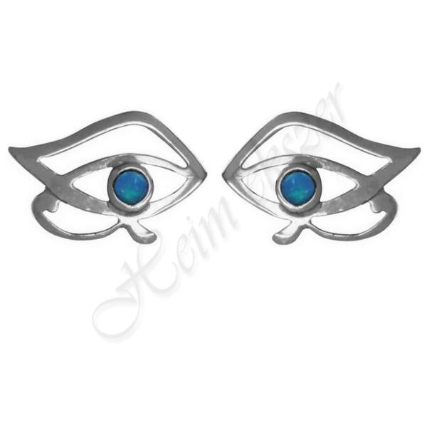 Hórusz szeme fülbevaló Heim Ékszer Webáruház