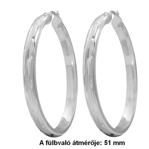 karika-fulbevalo-5,1 cm-atmero-ezust-heim-ekszer-webaruhaz