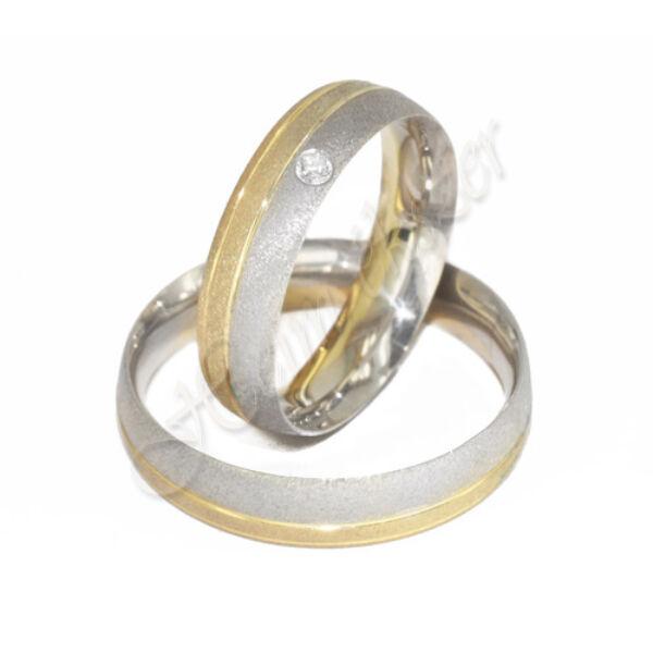 Arany ékszer, egyedi karikagyűrű 22
